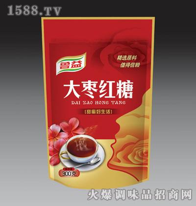 鲁益大枣红糖300克