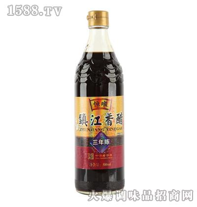 恒顺镇江香醋580ml(三年陈)
