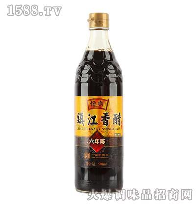 恒顺镇江香醋580ml