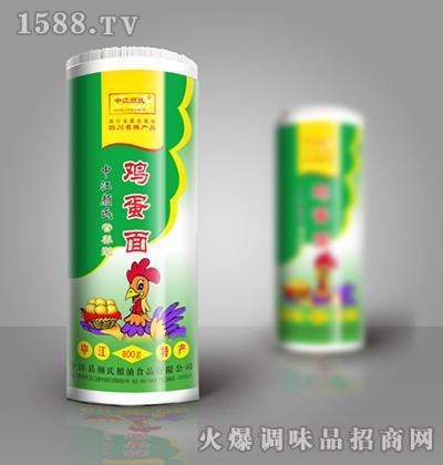 中江颜氏鸡蛋面(绿过塑)800g