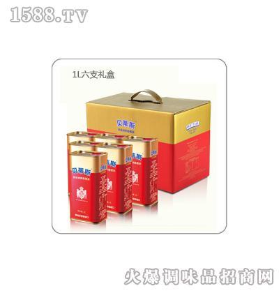 贝蒂斯特级初榨橄榄油礼盒装(1L*6)