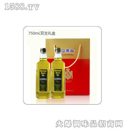 贝蒂斯特级初榨橄榄油礼盒装(750mL*2)
