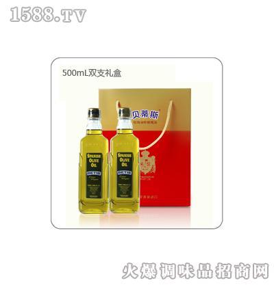 贝蒂斯特级初榨橄榄油礼盒装(500mL*2)