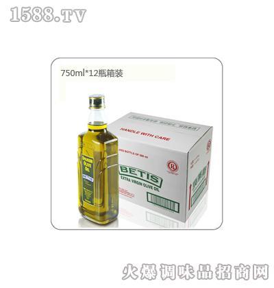 贝蒂斯特级初榨橄榄油箱装(750mL*12瓶)