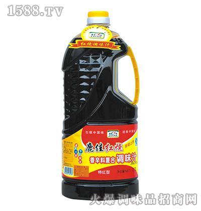 鹿佳红烧调味汁2.7L