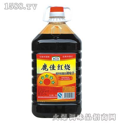 鹿佳红烧香辛料复合调味汁5L