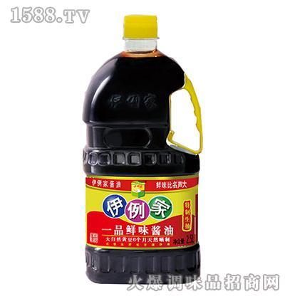伊例家一品鲜味酱油2.5L