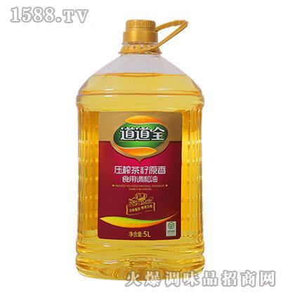 道道全压榨茶籽原香食用调和油