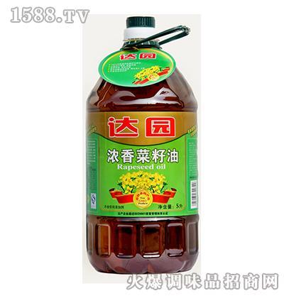 达园非转基因浓香菜籽油