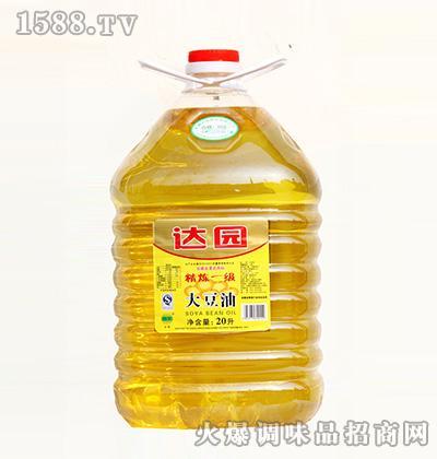 达园餐饮大豆油20L