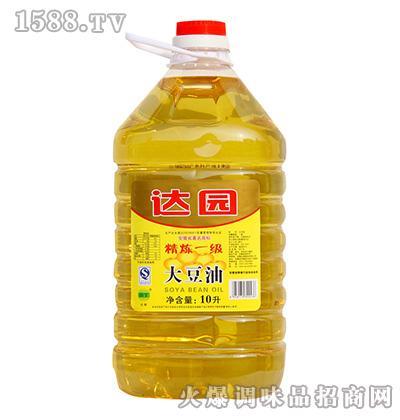达园餐饮大豆油10L