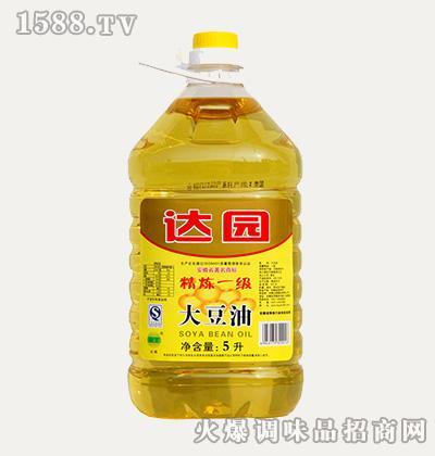 达园大豆油5L