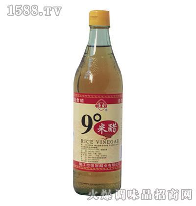 恒冠9度米醋