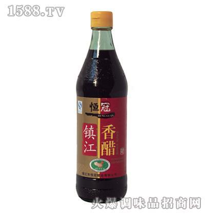 恒冠镇江香醋瓶装