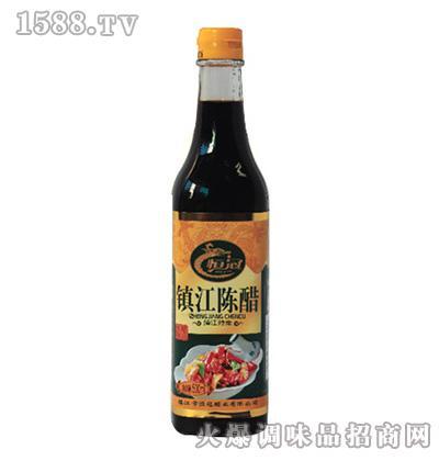 恒冠镇江陈醋-方瓶醋