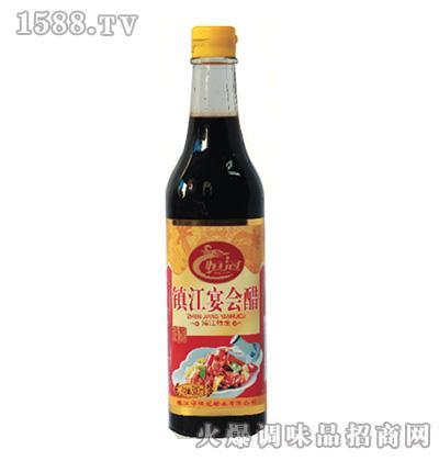 恒冠镇江宴会醋-方瓶醋