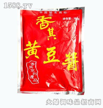 双城香其酱业黄豆酱180g