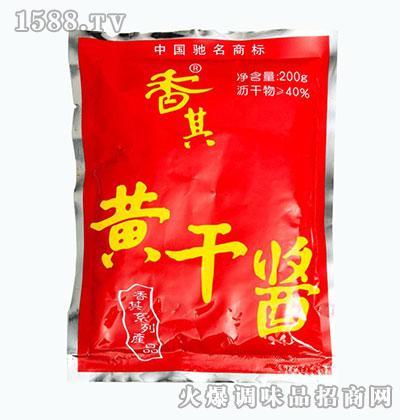 双城香其酱业黄干酱200g