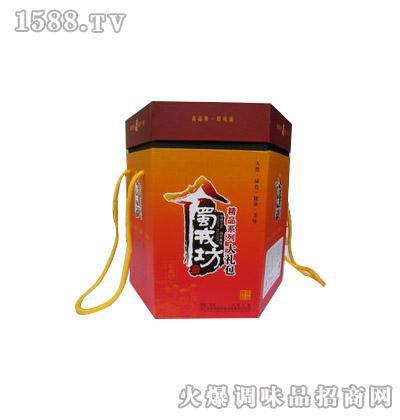 蜀戎坊大头菜六角形精品礼盒