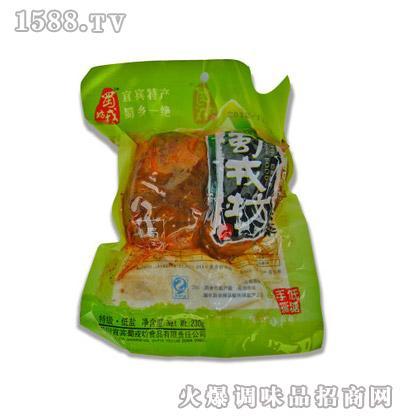 蜀戎坊四川特产健康低糖大头菜230g