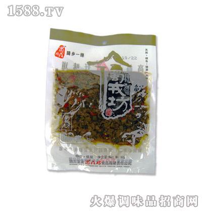 蜀戎坊鲜椒冬菜90g