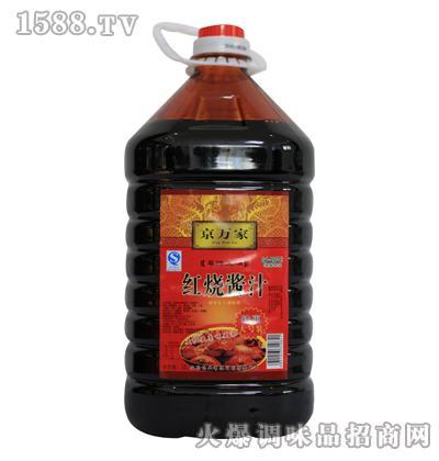 京万家红烧酱汁5L