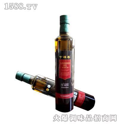 亨源香亚麻籽油500ml