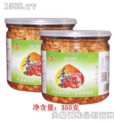 栋森香辣酥花生350克