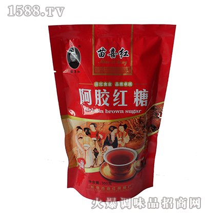 苗喜红阿胶红糖350克