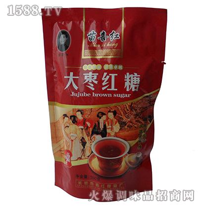苗喜红大枣红糖350克