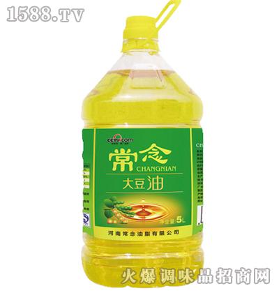 常念大豆油5L