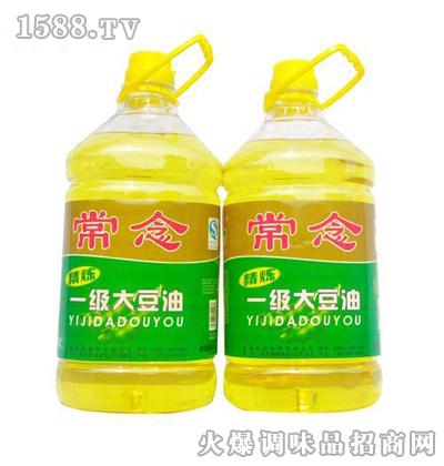 常念一级大豆油5L