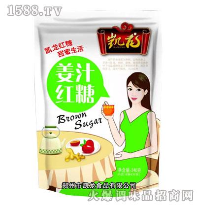 凯龙姜汁红糖240克
