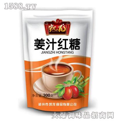 凯龙姜汁红糖300克(黄袋装