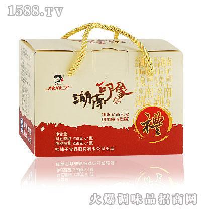 辣妹子-辣椒礼品盒2瓶装