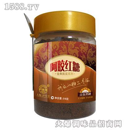 沪生堂阿胶红糖(金典瓶装)318克