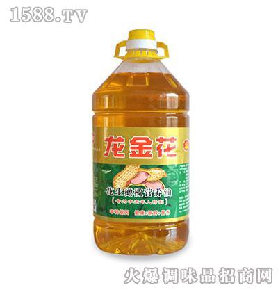 龙金花花生橄榄营养油5L