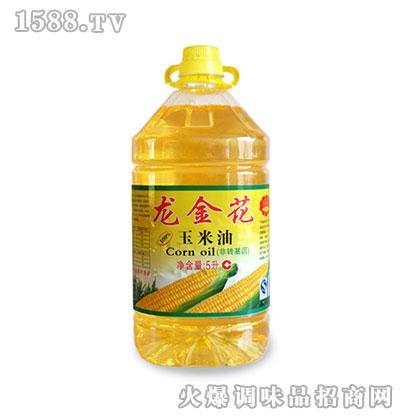 龙金花玉米油5L