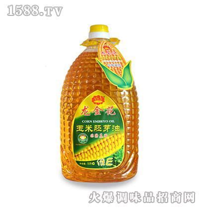 龙金花玉米胚芽油5L
