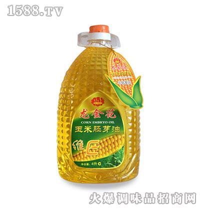 龙金花玉米胚芽油4L