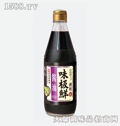 万通精制味极鲜酱油500ml