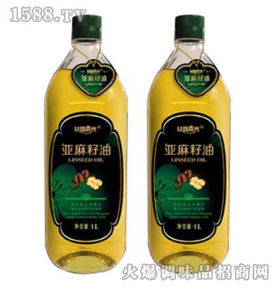 丝路晨光亚麻籽油1L