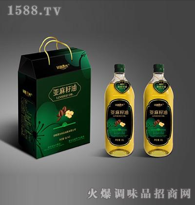 丝路晨光亚麻籽油礼盒1L