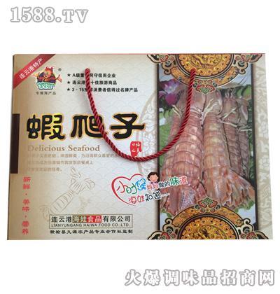 虾爬子大礼盒100gx4瓶