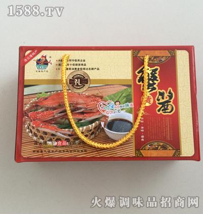 蟹黄酱小礼盒200gx2瓶