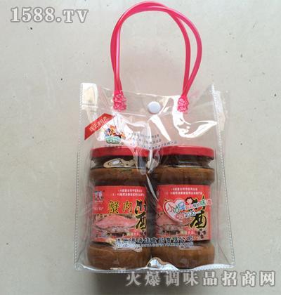140gx2瓶蟹肉酱手提