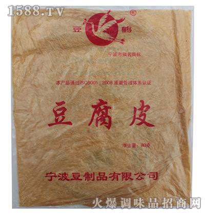豆鹤豆腐皮80g