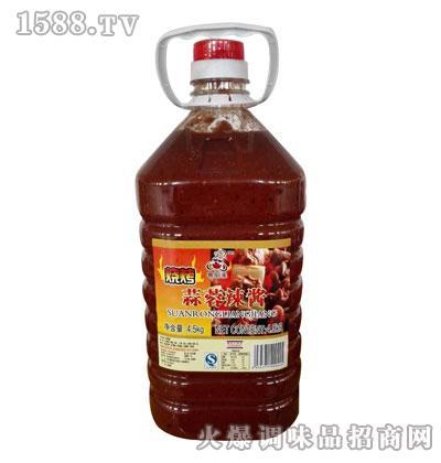 粤厨来蒜蓉辣酱4.5kg