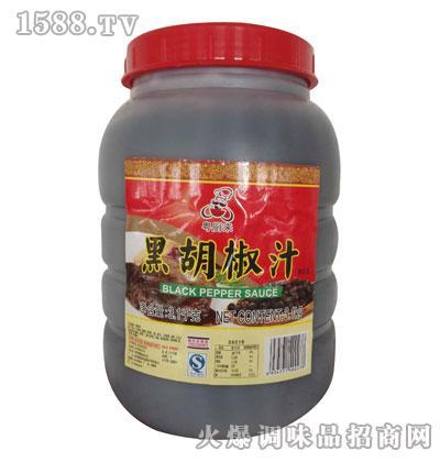 粤厨来黑胡椒汁3.1kg