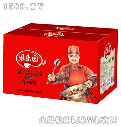 红油郫县豆瓣酱(箱)-君乐园